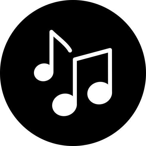 Vector Music Notes ícone