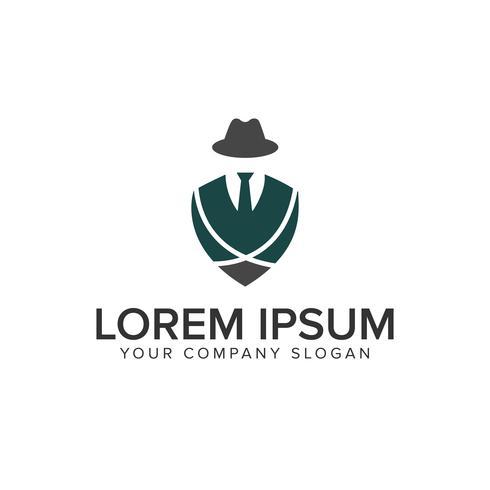 tuxedo with hat logo