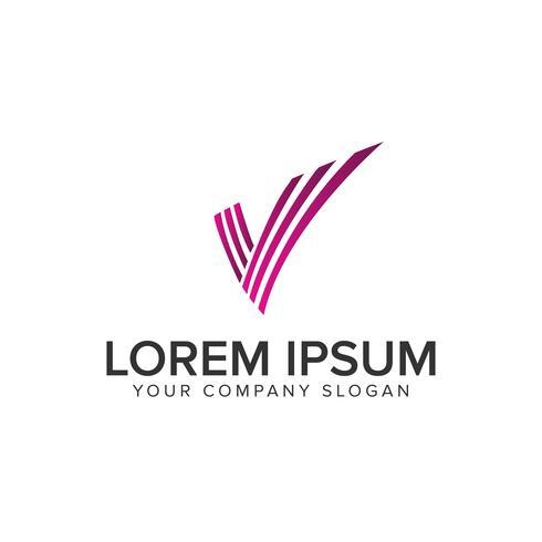 Letter V-logotyp
