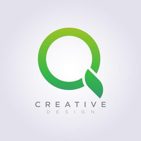 Logo Design Vector Symbol vergrößern Ikone