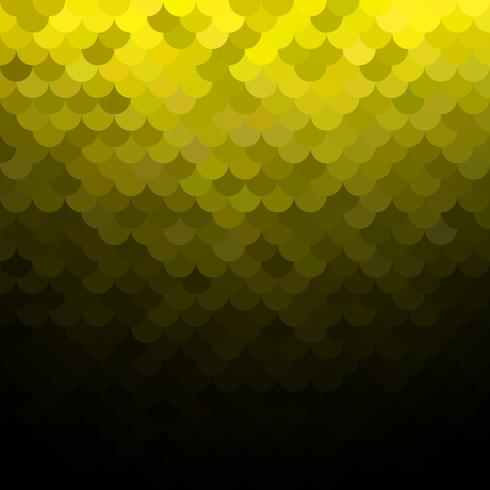 Gelbes Dachziegelmuster, kreative Design-Schablonen