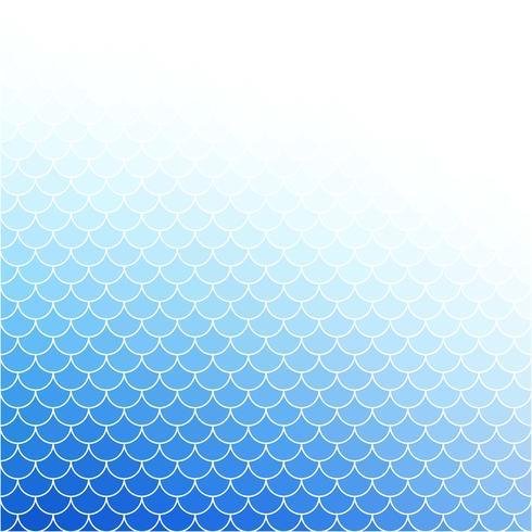 Padrão de telhas de telhado azul, modelos de Design criativo