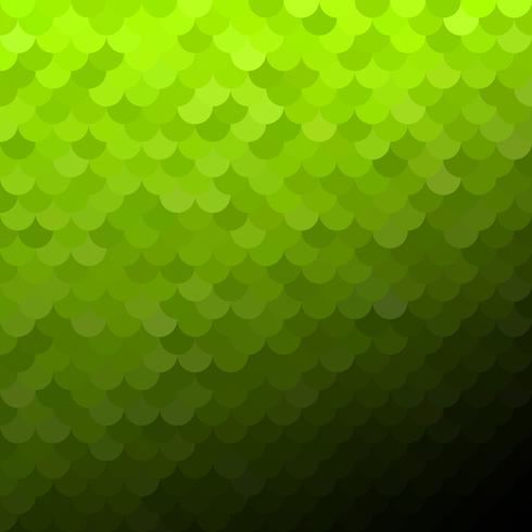 Patrón de tejas verdes, plantillas de diseño creativo vector