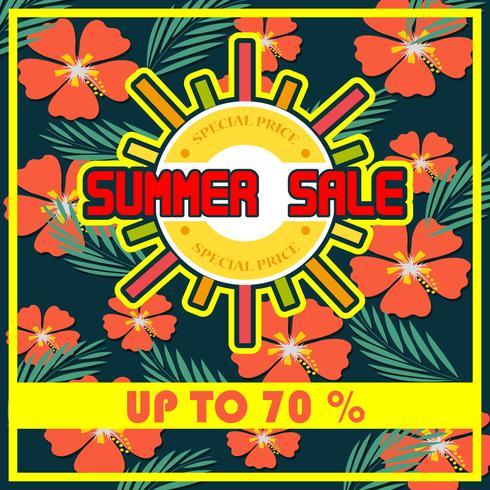 Vector Summer Big Sale es un vector de dibujo a mano inscripción de letras