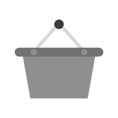 Icône de panier de vecteur