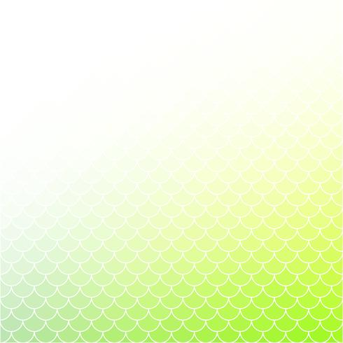 Motif de tuiles de toit vert, modèles de conception créative
