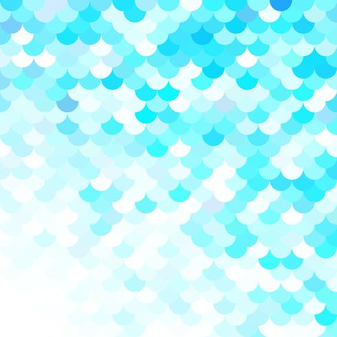 Motif de tuiles de toit bleu, modèles de conception créative