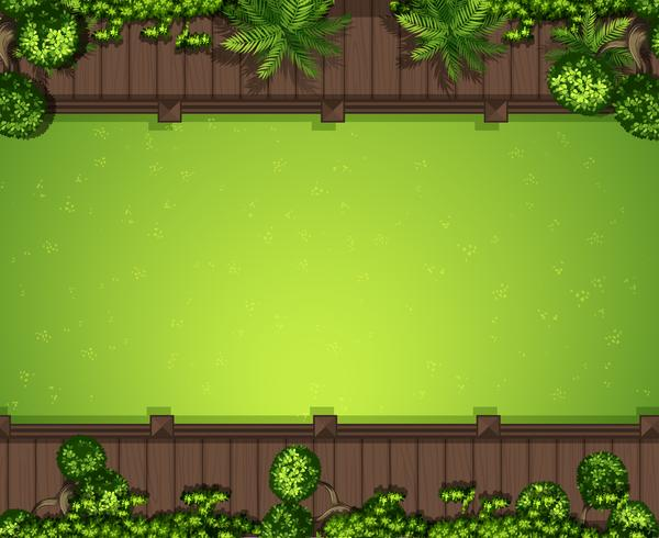 Fond d'herbe verte aérienne