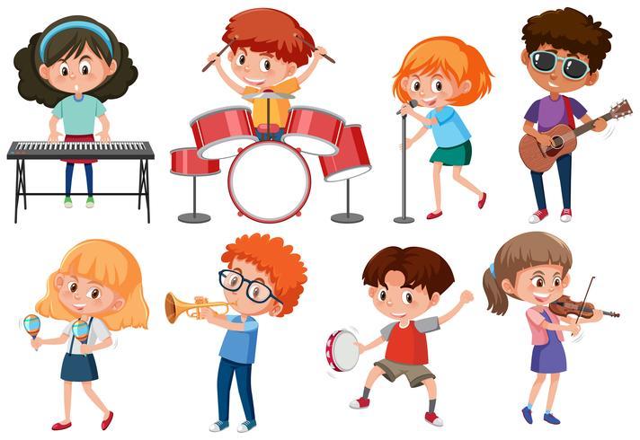 Set di caratteri musicisti