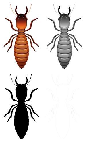 Juego de termitas
