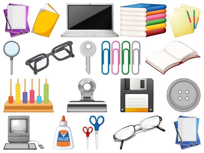 Reihe von Office-Objekten