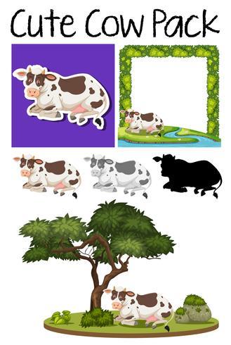 Een pak koe
