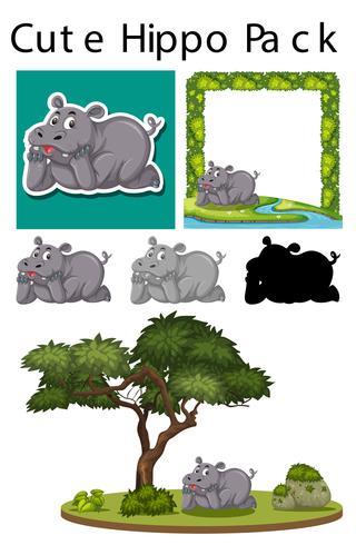 Een pakje nijlpaard