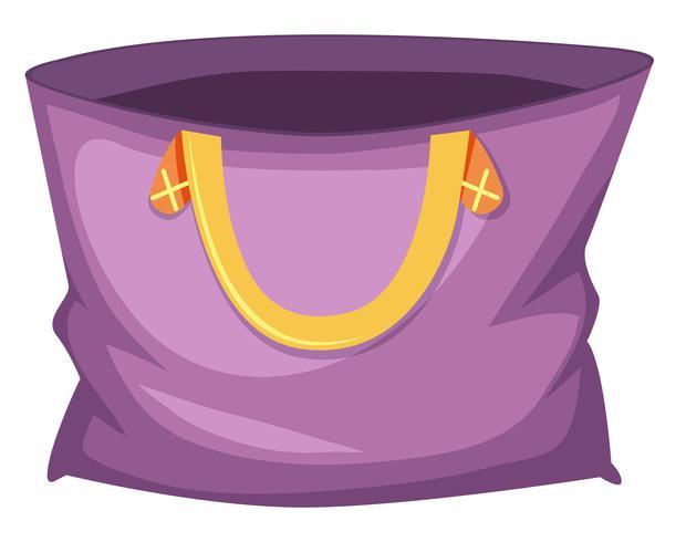Stor lila toto väska