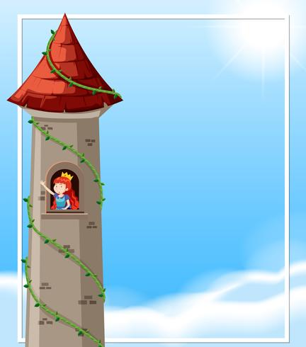 Princess in the castle
