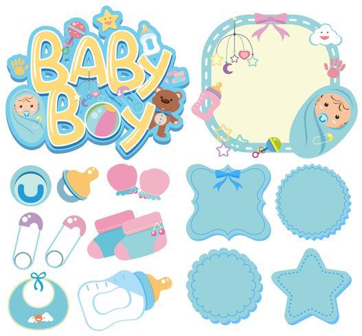 Banner Templates For Baby Boy Download Free Vectors Clipart Graphics Vector Art