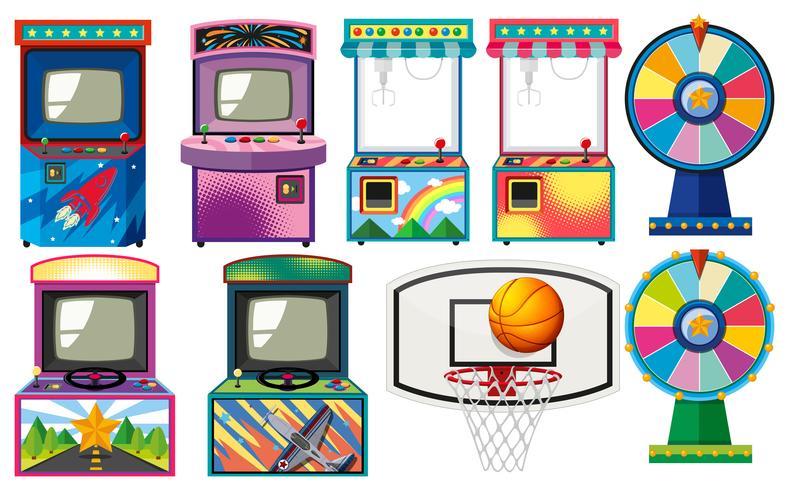 Conjunto de juegos de arcade.