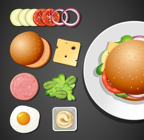 Um conjunto de Burger Element