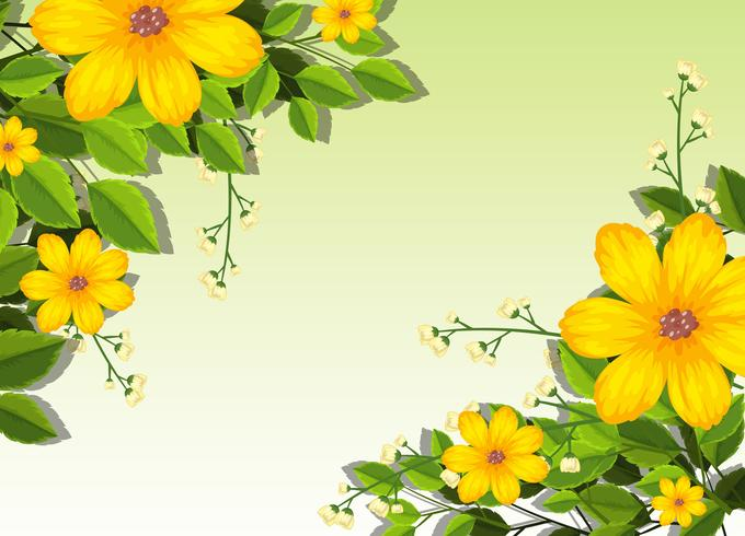 yellow flowers background scene download free vectors clipart graphics vector art yellow flowers background scene