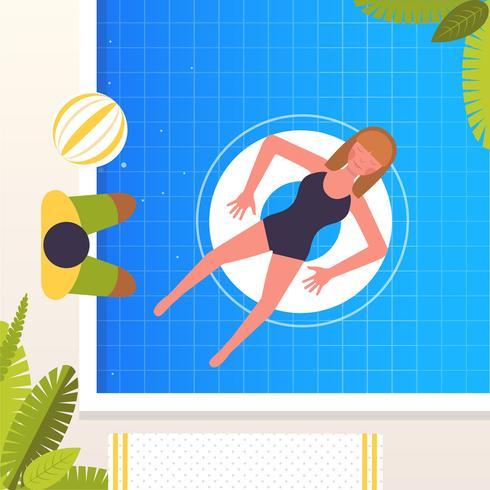 Vector verano ilustración