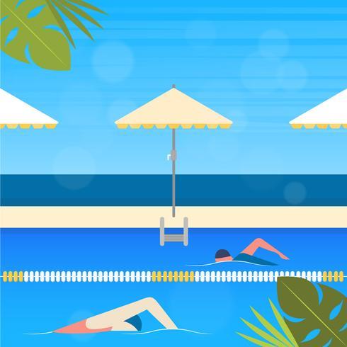 Vector Summertime Illustration