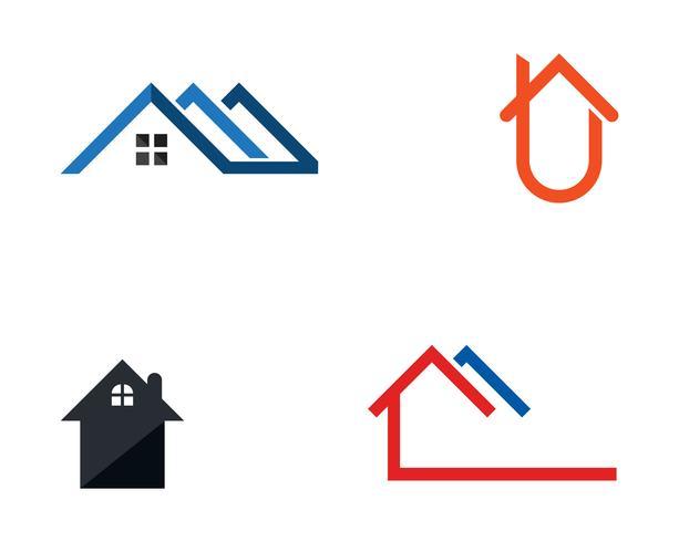 Casa, logotipo, e, símbolo