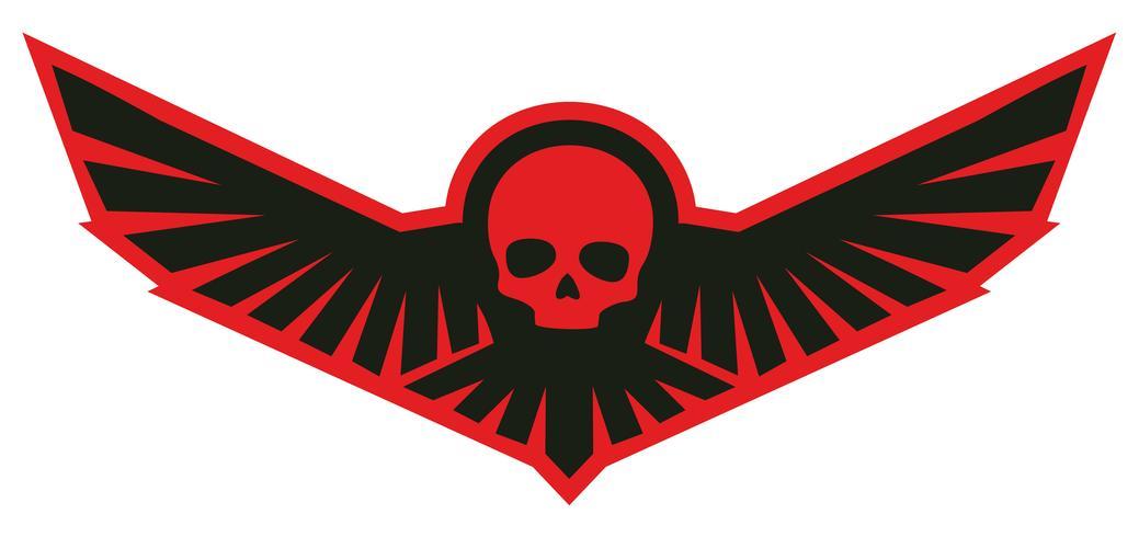 leger schedel wapenschild