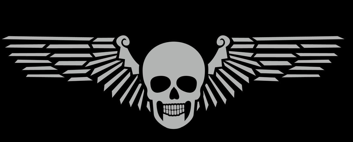 brasão do crânio do exército