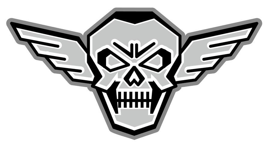 Armee Schädel Wappen