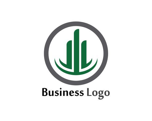 Icône de colonne Logo Template vector illustration design