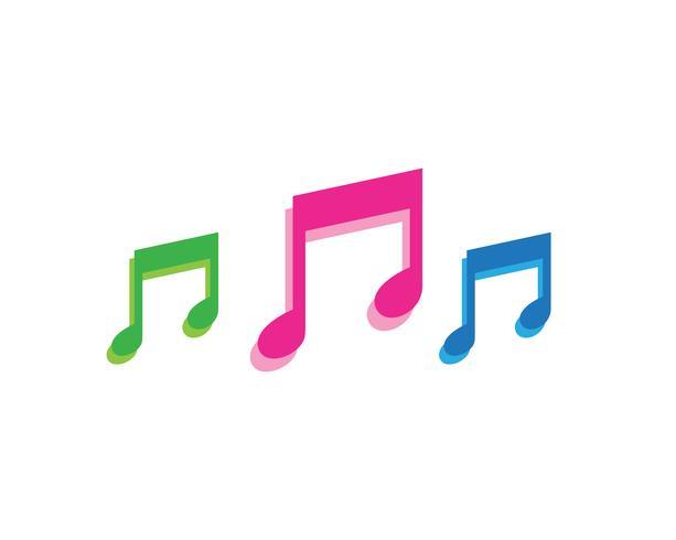 Musikspel symboler logotyp och ikoner mall,