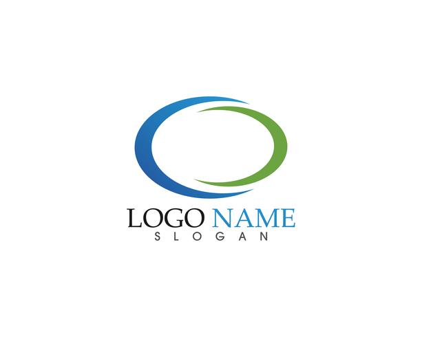 C Logo Template Design Vector