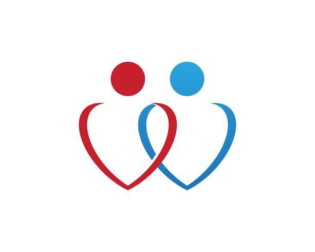 Zeichen des menschlichen Charakters, Gesundheitspflegelogo. Natur-Logo Zeichen. Grünes leben logozeichen,