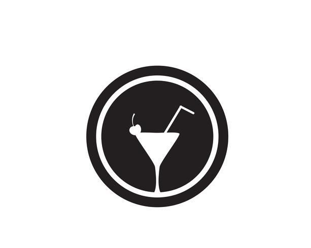 Getränk caffe Schale Logo Template-Vektorikonendesign