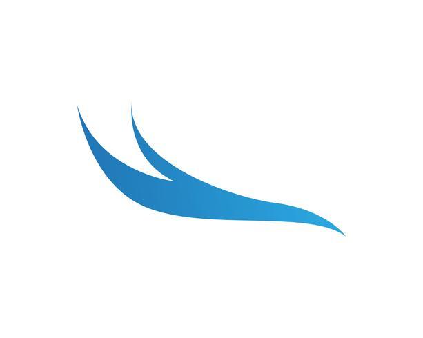 Onde logo e simboli modello icone app