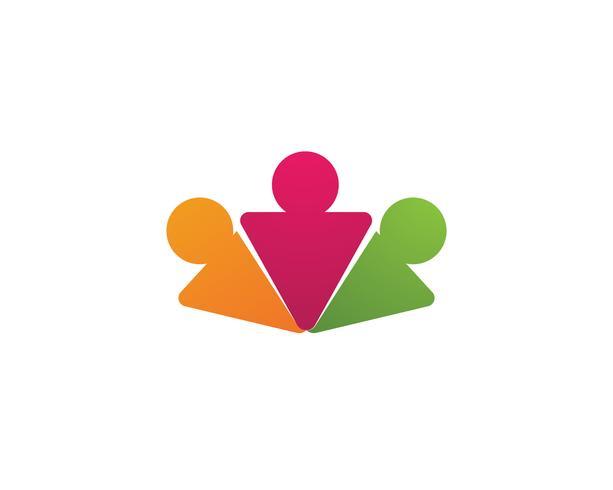 Segno di carattere umano logo, logo assistenza sanitaria. Segno logo natura. Segno di vita verde logo,