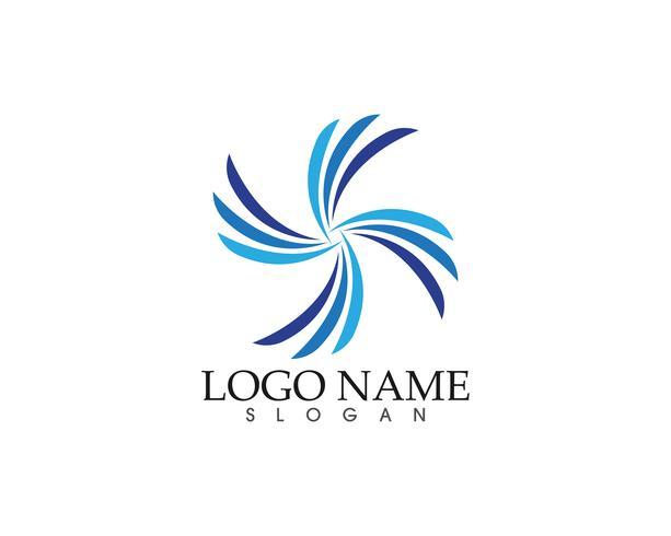 Resumen Digital Pixel Pair Logo negocios finanzas vector