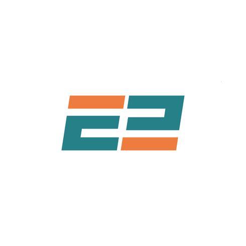 elemento digitale dell'icona dell'illustrazione di vettore del modello di logo della lettera E di tecnologia