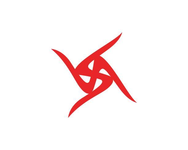 Triangle magic trident logo and symbols icons app