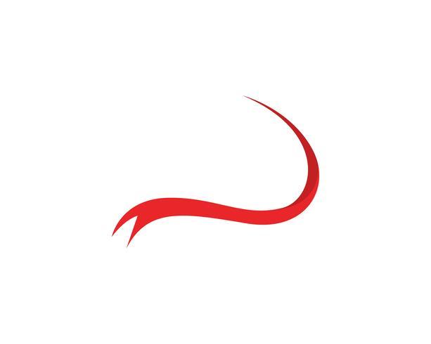 Symboles du ruban et application de modèle logo icônes