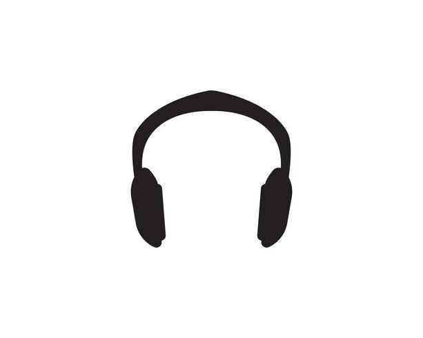 Musique jouer symboles logo et modèle d'icônes,