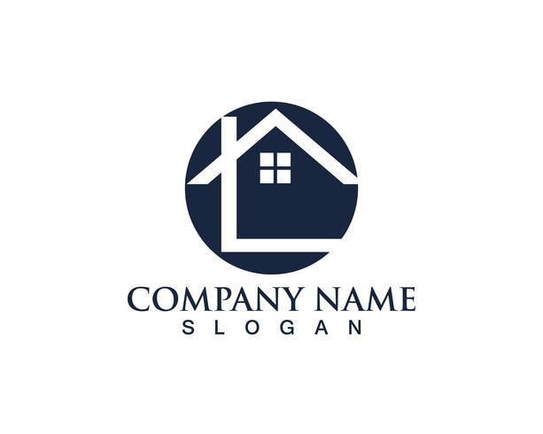 Accueil sweet home logo et symboles vectoriels édition noire