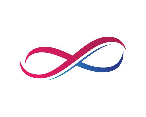 app logo icônes infini et symbole modèle ,,