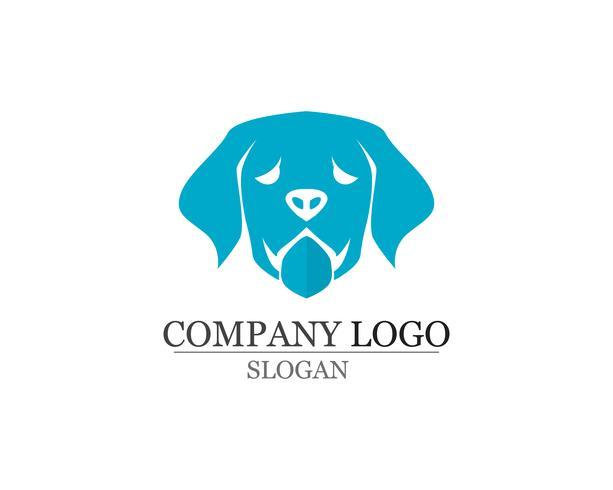 dog Love symbols logo and symbols template