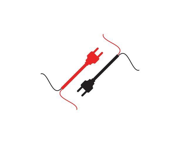 Schaltungstechnik Illustration Vektor-Logo