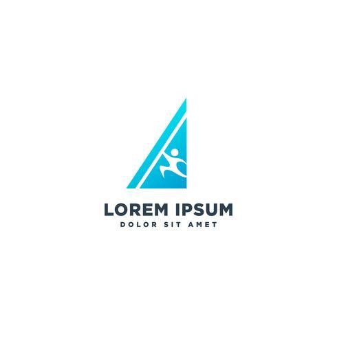 lärande eller utbildning logotyp mall vektor illustration ikon element