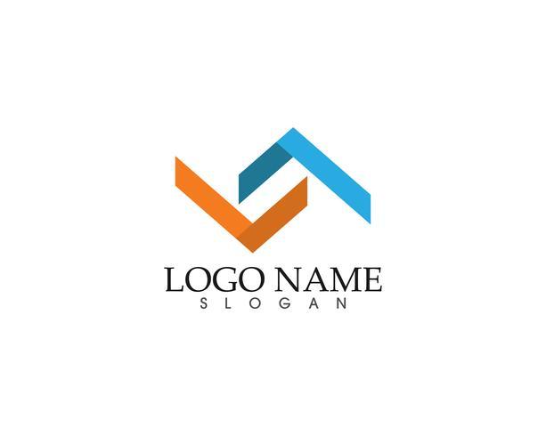 Résumé numérique numérique paire logo finance entreprise