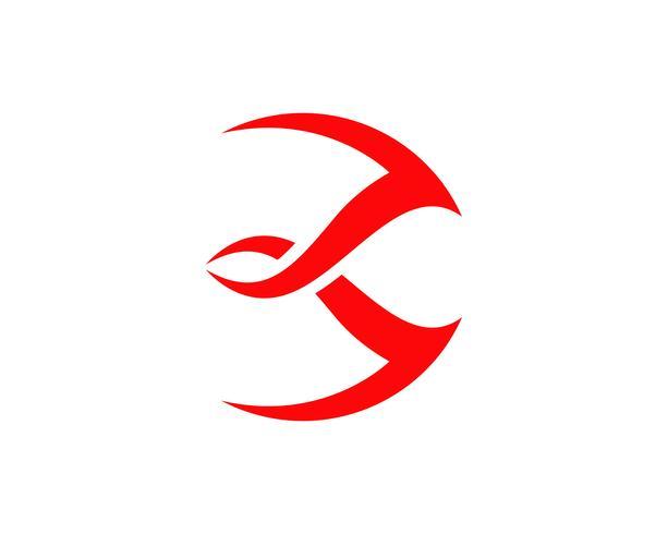 Logo de trident magique et vecteur modèle de symboles,