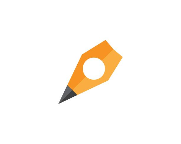 pen write sign logo template app icons vector