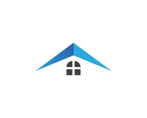 Immobilier, propriété et construction Création de logo pour enseigne corporative. Logo vectoriel ..